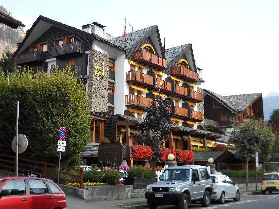 Hotel Pavillon: Facciata dell'hotel