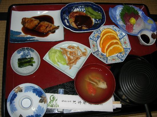 Takaoka, Japonya: le diner