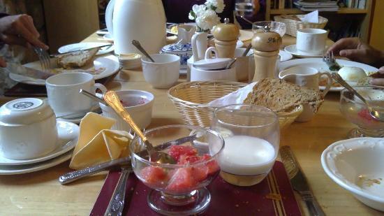 Teviotdale House: colazione