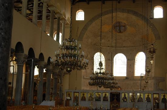 Church of Agia Sofia : Inside the church