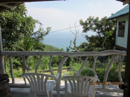 Sunrise Bungalow Koh Tao : View from room