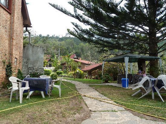 Mullers Mountain Lodge : Garden