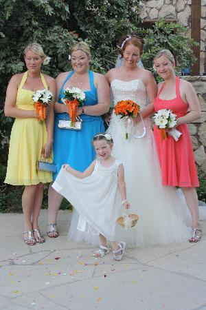 Capo Bay Hotel : Bridal party