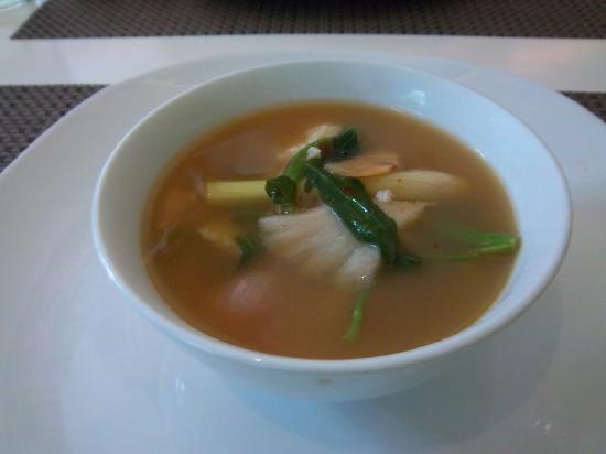Thai At Silk - Taguig: Tom yum soup