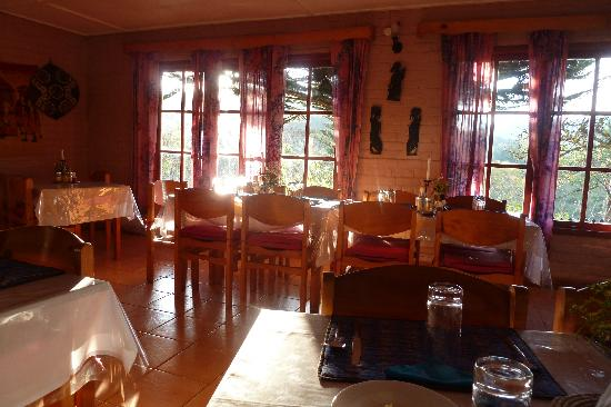 Mullers Mountain Lodge : Dining room