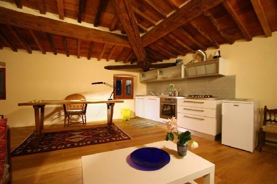 Orto di Cornelio: cucina e soggiorno