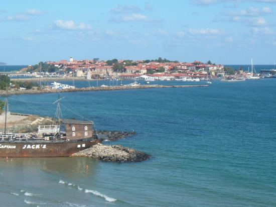 Mirage of Nessebar : Old Nessebar from balcony