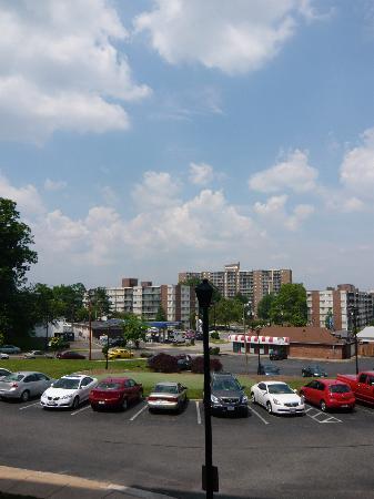 Washington Suites Alexandria: Suburban view!