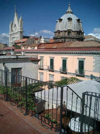 Re di Napoli Bed : vista da terrazzo