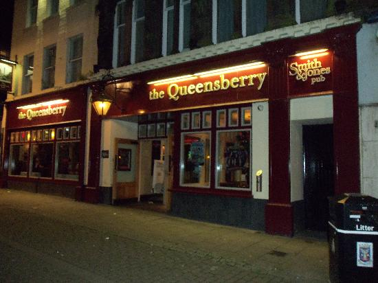 The Queensberry Hotel: outside