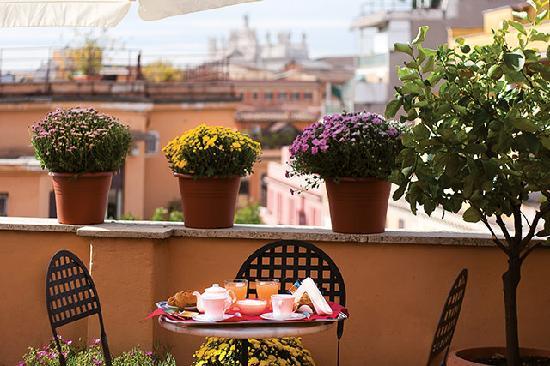 Hotel Novecento: Terrazzo Panoramico