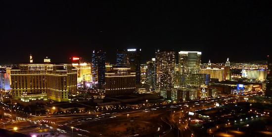 Rio All-Suite Hotel & Casino: View from the roof or the Rio Hotel