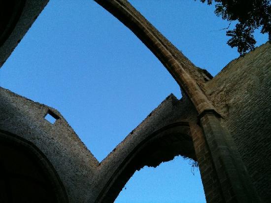 Chiesa di Santa Maria dello Spasimo: cielo