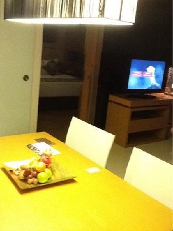 อนันตรา กรุงเทพฯ สาทร: 房间起居室
