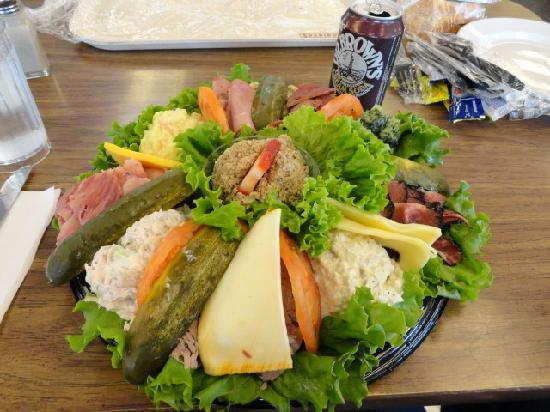 Shapiro's Delicatessen : Deli platter for two (more like 4)