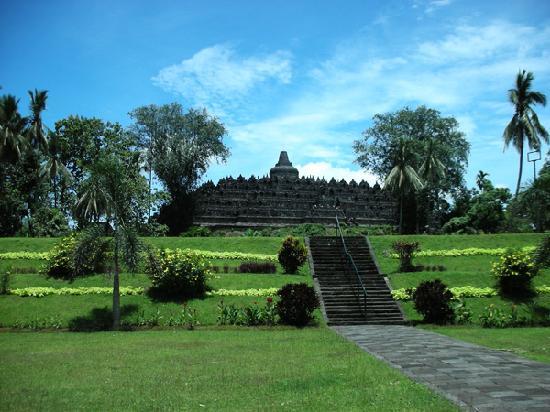 婆羅浮屠照片