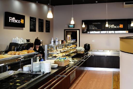 Caffe Fresco: Deli and coffee counter