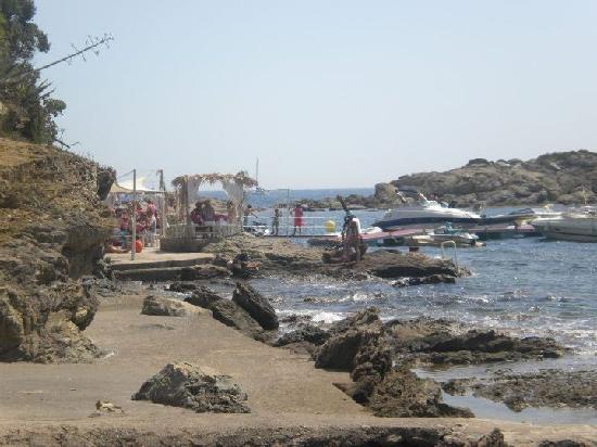 Vistabella : Le beach club El Pirata