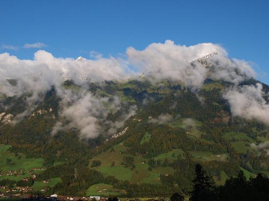 Gasthof Engelberg: uitzicht niesenkette