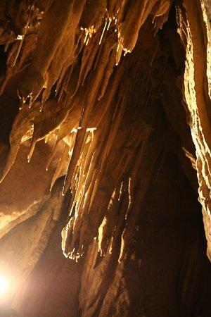 Grotte de Betharam : vue