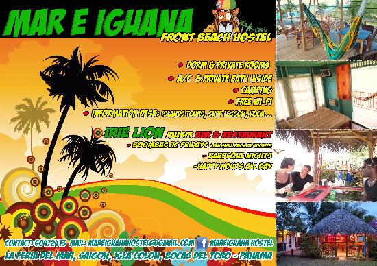 Hostal Mar e Iguana: brochure