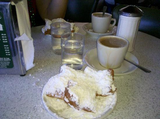 نيو أورلينز, لويزيانا: cafe  du monde