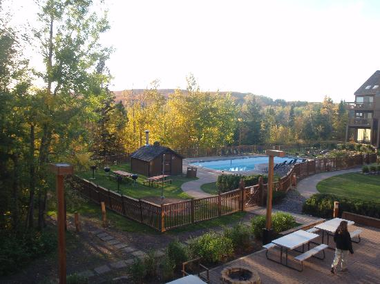 Caribou Highlands Lodge: View from our condo