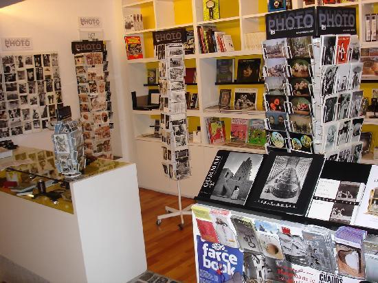 Swiss Camera Museum : Shop im Kassenbereich