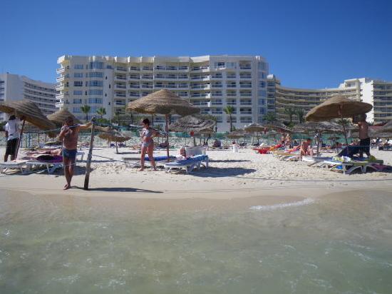 Riadh Palms Hotel: ARRIERE DE L'HOTEL