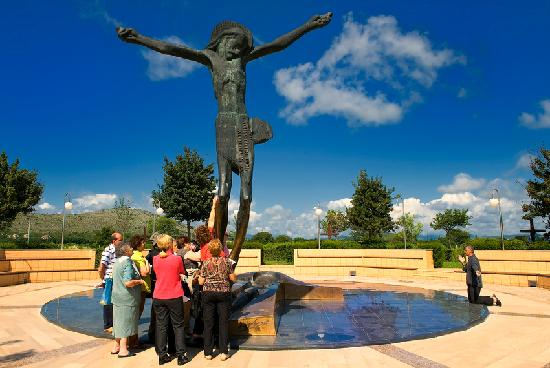 Medjugorje Tours & Travel Day Tour : The Statue of the Risen Christ, Medjugorje