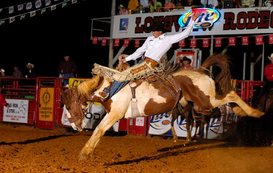 Λόνγκβιου, Τέξας: Annual Longview Rodeo by the Greggton Rotary Club