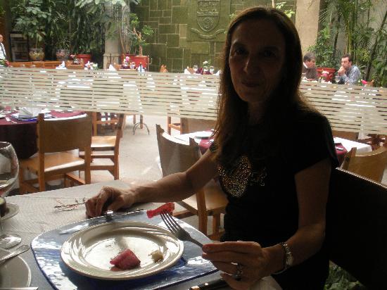 Restaurante Mesón Puerto Chico: entrada de fiambres