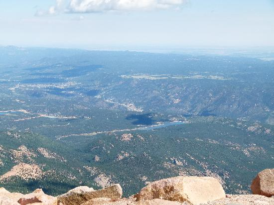 Pikes Peak: much better view