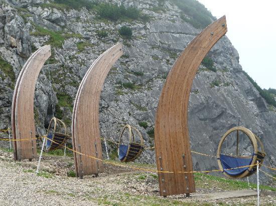 Aussichtsplattform AlpspiX: A rest place along the walk down