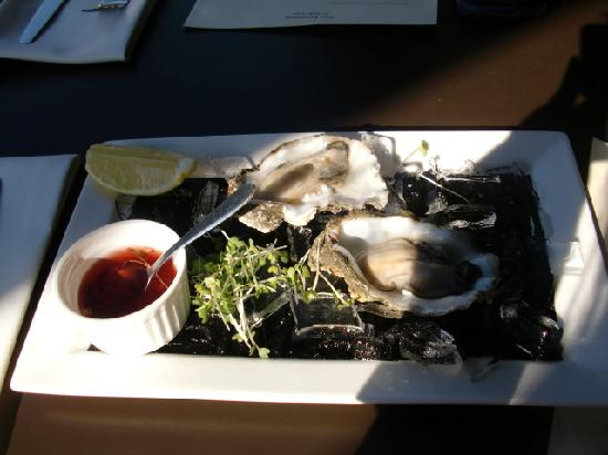 The Brasserie on St John Street : Oysters