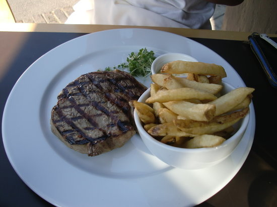 The Brasserie on St John Street : Steak
