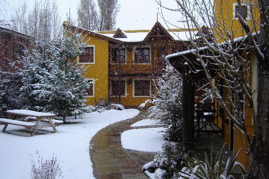 Hosteria Kau Kaleshen: En el invierno