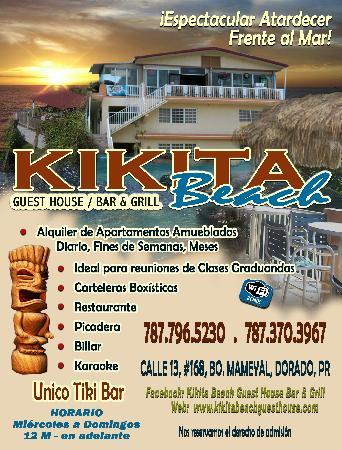 Kikita Beach Bar & Grill : Flyer