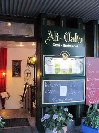 Zum Alten Calwer: entrance