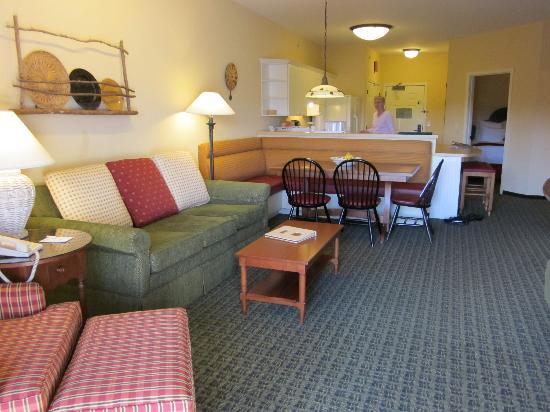 Marriott's Willow Ridge Lodge: Living room