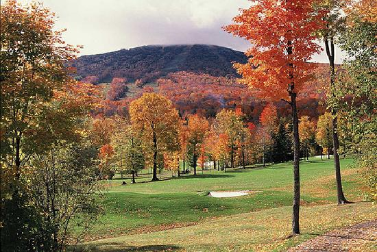Stratton Mountain: Mountain in Fall