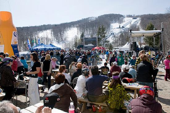 Stratton Mountain: Ski lovers