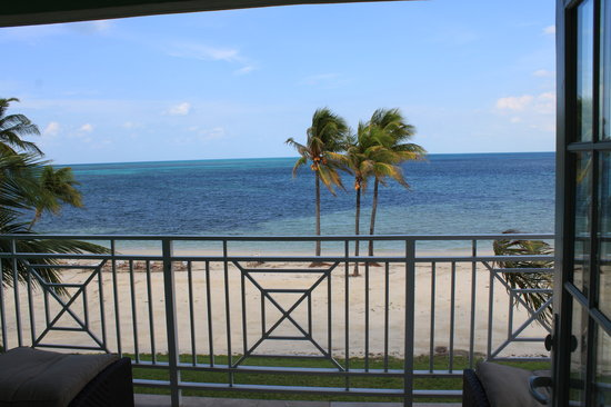 Old Bahama Bay: The view from our balcony.