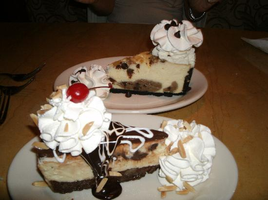 The Cheesecake Factory: best cheesecake ever