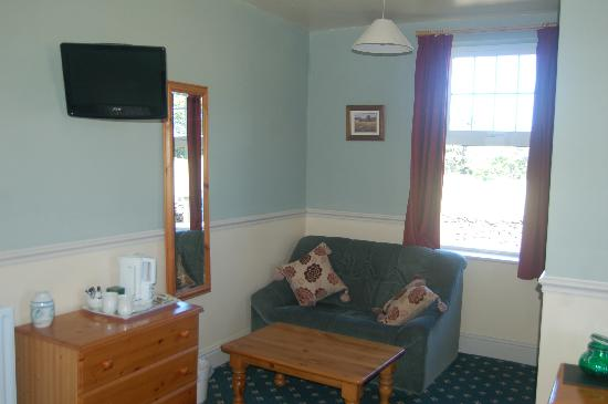The Pines Country House: ...and a view towards Ingleborough