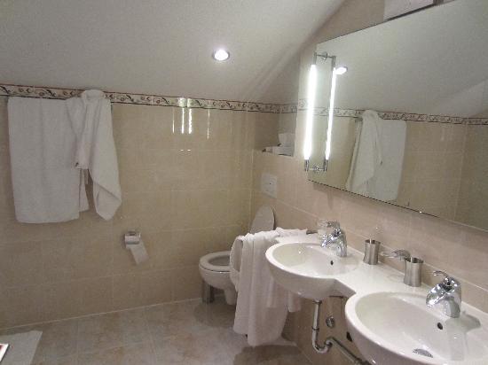 Grichting & Badnerhof Swiss Q Hotel: bath room