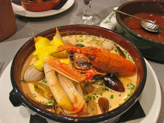 LochLeven Seafood Cafe : Shellfish Soup