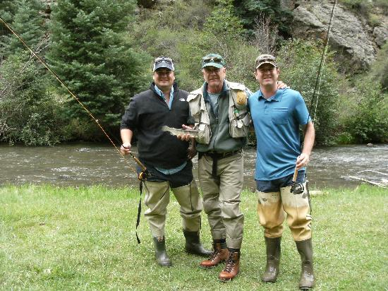 Valle vidal fishing picture of fagan 39 s guided fly for New mexico fishing license cost