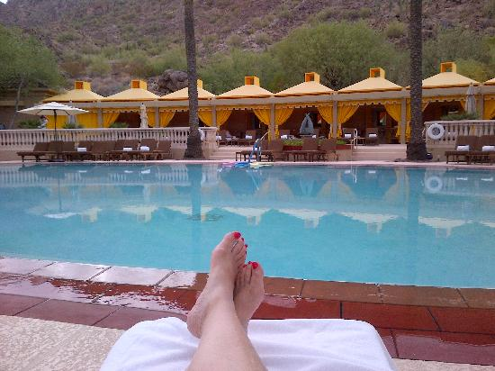 The Canyon Suites At The Phoenician: THE POOL
