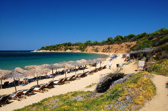 Hotel Galini: Our favorite beach - Mandraki Beach